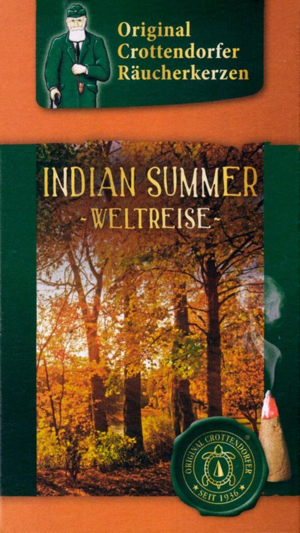 Crottendorfer Räucherkerzen Weltreise Indian Summer